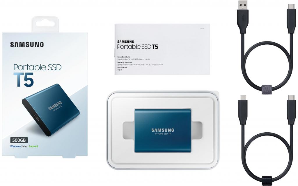 Samsung Portable SSD T5 - 500GB
