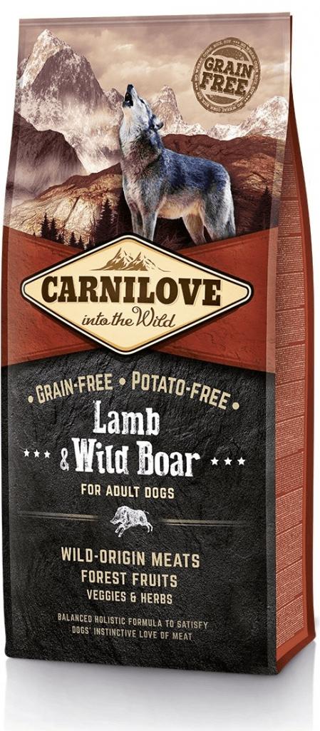 Carnilove Dog Lamb & Wild Boar 12 kg