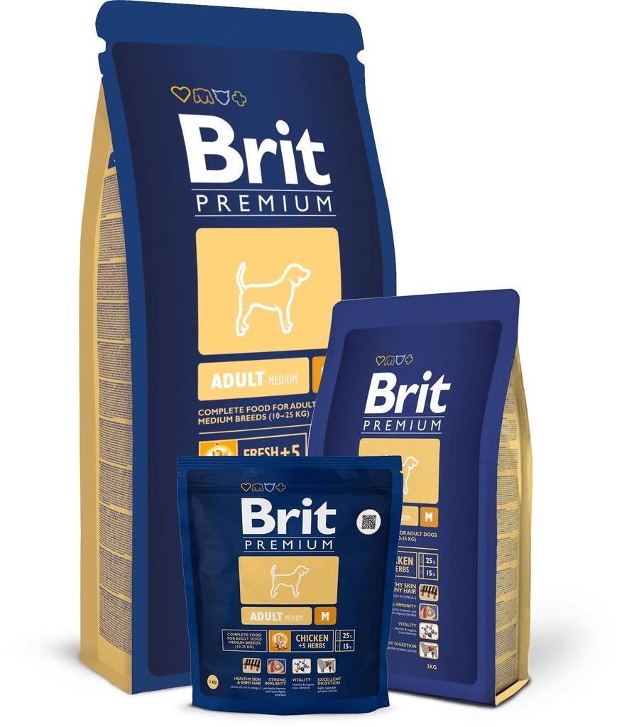 Brit Premium Adult M 15 kg