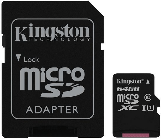 Kingston Canvas Select microSDXC 64GB UHS-I U1