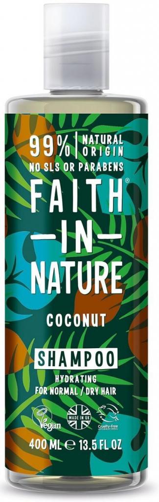 Faith in Nature přírodní šampon Bio Kokos 400 ml