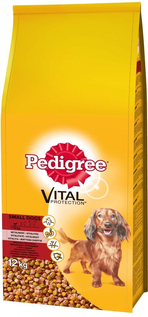 Pedigree Adult Mini hovězí & zelenina 12 kg