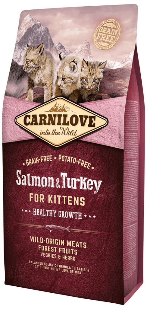Carnilove Cat Salmon & Turkey for Kittens HG 6 kg
