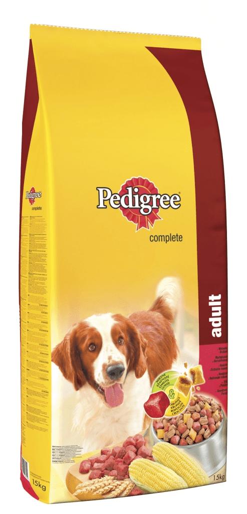 Pedigree Adult hovězí & drůbeží 15 kg