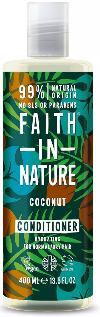 Faith in Nature přírodní kondicionér Bio Kokos 400 ml