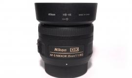 Univerzální pevný objektiv, který nezklame - Nikon 35mm f/1,8G AF-S DX