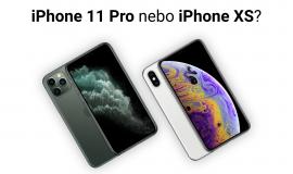 Srovnání telefonů Apple iPhone 11 Pro vs. Apple iPhone XS