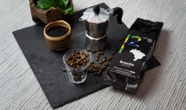 Prémiová brazilská káva upražená v Česku
